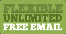 Flexible unlimited free email